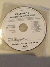 Playstation 3 Ps3 Prototype Killzone 2 Pre Production Test Sample