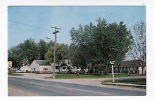 Maple Grove Motel & Cabins Highway 2 BRIGHTON Ontario Canada Postcard