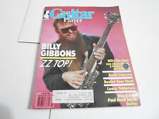 MARCH 1986 GUITAR PLAYER --- vintage music magazine --- BILLY GIBBONS ZZ TOP