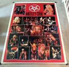 Motley Crue 40x60 Shout At the Devil Concert Collage Giant Subway Poster