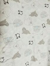 TREND LAB 100% COTTON FLANNEL FITTED CRIB SHEET