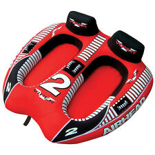 AIRHEAD Viper 2 Person Rider Inflatable Towable Boat Tow Tube Water Tubing