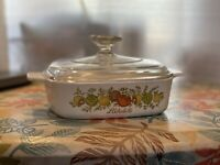 corning ware spice of life a-1-b 1 quartWith Pyrex Lid