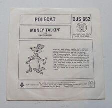 Polecat - Money Talkin' / Time To Grow - 1976 DJM Promo (VG+/EX)