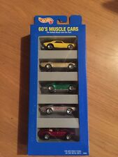 1995 Hot Wheels 60's Muscle Cars Gift Pack Die Cast Cars, 1:64, MISP