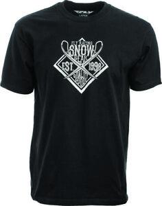 Fly Racing Black Snow T-shirt