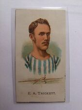 1887 E. A. TRICKETT Allen & Ginters Cuts Rowing Card RARE