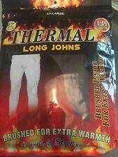 Black Thermal Long Johns XXL