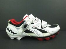 NORTHWAVE Cycling Shoes Airflow System White Leather Size 7
