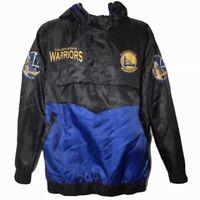 NBA Golden State Warriors Windbreaker Jacket Athletic Activewear Athleisure M