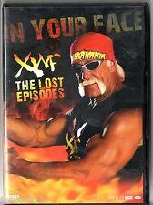 DVD CATCH XWF # IN YOUR FACE/THE LOST EPISODES # HULK HOGAN/CURT HENNIG