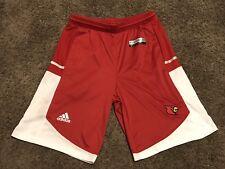 Louisville Cardinals Adidas Basketball Shorts Men's Small Size
