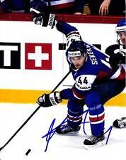 ANDREJ SEKERA TEAM SLOVAKIA SIGNED AUTOGRAPH 8X10 PICTURE PHOTO HOCKEY NHL