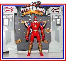 Power Rangers Dinothunder _ Red Triassic Quadro Battlized Ranger _ Figure Only