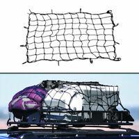 Borsa per auto SUV per tetto Tenda elastica in rete Gabbia per bagagli 120x90cm