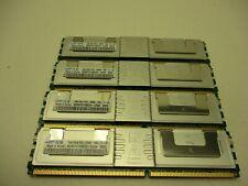 Samsung M395T5750EZ4-CE66  4x2GB=8GBs  2Rx4 PC2-5300F   Memory RAM Lot of 4
