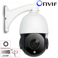 SONY 30X ZOOM HD 1080P 2.0MP Outdoor Security PTZ IP Speed Dome Camera