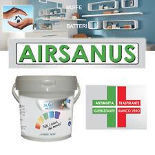 PITTURA Antimuffa - Igienizzante - Sanificante *AIRSANUS* per INTERNI  da 5-14 L