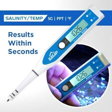 Icecap Salinity/Temperature Digital Tester Saltwater Aquariums Refractomer NEW