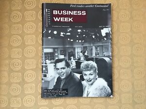 "Business Week Magazine October 5, 1957 ""Lucy and Desi"""