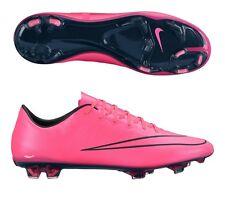 Nike Mercurial Vapor X FG Soccer Cleats 648553-660 pink/black Mens Sz 12