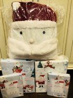 Pottery Barn Kids Rudolph And Bumble Queen Duvet Sham Sheet Set Christmas Santa