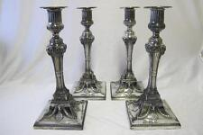 Pre-1800 Antique Solid Silver Candlesticks & Candelabras