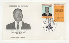 République du Dahomey 2 timbres sur lettre FDC 1968 tampon Cotonou /FDCa129