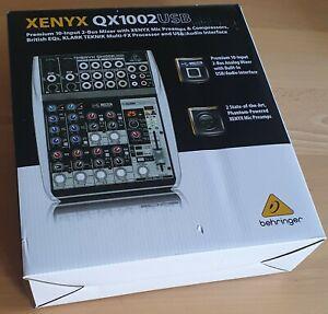 Behringer XENYX 1002 USB Mischpult