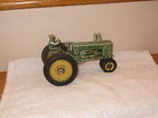 Vintage 1940's Ertl John Deere model A Open Flywheel Toy Tractor