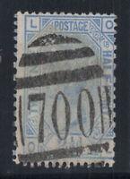 Großbritannien 1880 Mi. 51 Gestempelt 60% Königin Victoria, 2 1/2 P, L, O.
