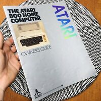 Vintage 1981 The Atari 800 Home Computer Owners Guide Manual