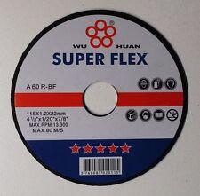 115MM X 1.2MM  THIN METAL CUTTING DISCS , WHEELS X 50