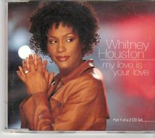 (EY221) Whitney Houston, My Love Is Your Love - 1999 CD