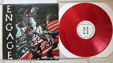 ENGAGE ‎– Empowerment  LP Red rotes Vinyl   Redemption Records ‎– RED 012