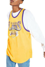 029fa5ef4ad NEW LADIES TOPSHOP X UNK LOS ANGELES LAKERS JERSEY VEST - XL - NWT -  OVERSIZED