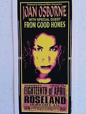Joan Osborne Mark Arminski Handbill