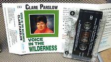 CLARE PARSLOW Voice Wilderness cassette-tape Australia Christian 1980s Truesome