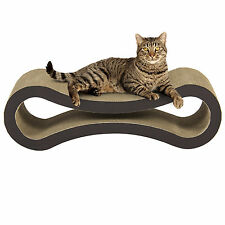 Best Choice Products Cat Scratcher Kitten Lounge Pet Scratching Kitty Bed Toy