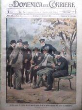 La Domenica del Corriere 4 Novembre 1917 WW1 Carabinieri Prigione Ospedale Fiat