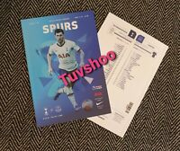 Tottenham Spurs v Everton RESTART LIMITED Programme 6/7/2020! READY TO DISPATCH!