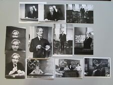 "PIERRE FRESNAY ""TETE D'HORLOGE"" JEAN-PAUL SASSY LOT DE 30 PHOTOS TV EM"
