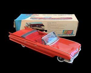 1961 Cadillac Red 62 Convertible ~ Shoji SSS Japan