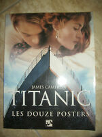 JAMES CAMERON - TITANIC.LES DOUZE POSTERS - ANNO:1998 (TM)