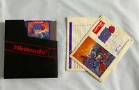 MEGA MAN 3 NES Nintendo Cartridge W/ Manual Protective Sleeve Tested Clean Label
