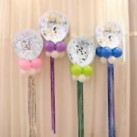 5pcs/Set Confetti Balloon Latex Happy Birthday Wedding Event Party Decor Supply