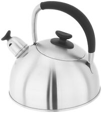 Stellar Stainless Steel Casstel Stove Top Kettle - 2.0Litres - Brand New & Boxed