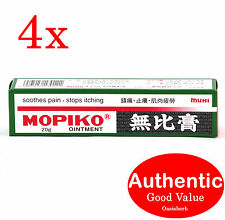 4X Mopiko Ointment 20g  Made in Japan for pain & Itchiness (New!)