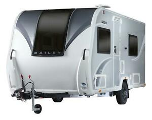 Brand New 2022 Bailey Discovery D4-4 Caravan Fixed Double Bed. **DUE IN SOON**
