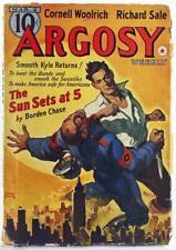 Argosy Weekly March 2, 1940 Pulp Magazine, Borden Chase, Cornell Woolrich